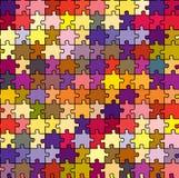 Textura sem emenda do enigma Imagens de Stock