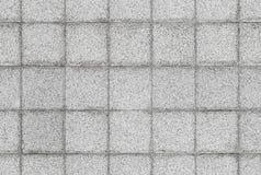 Textura sem emenda do fundo da parede de pedra cinzenta da telha Fotografia de Stock Royalty Free