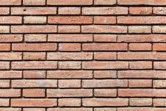 Textura sem emenda do fundo da parede de tijolo vermelho Fotos de Stock