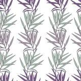 Textura sem emenda do fundo do design floral Imagem de Stock Royalty Free