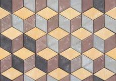 Textura sem emenda do fundo do pavimento Fotografia de Stock