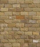 Textura sem emenda do fundo dos tijolos do arenito Imagens de Stock Royalty Free