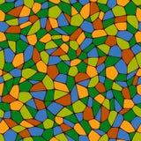 Textura sem emenda do mosaico do fundo Fotografia de Stock Royalty Free