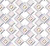 Textura sem emenda do motivo arquitectónico Fotos de Stock Royalty Free