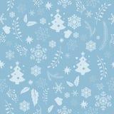 Textura sem emenda do Natal ilustração stock