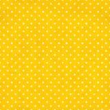 Textura sem emenda do papel velho com teste padrão de pontos retro Imagem de Stock Royalty Free