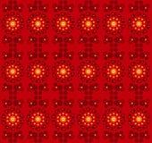 Textura sem emenda do teste padrão de flor Fotos de Stock Royalty Free