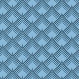 Textura sem emenda do teste padrão do vetor da escala azul do dragão imagem de stock royalty free