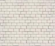 Textura sem emenda do tijolo branco de alta resolução Fotos de Stock