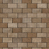 Textura sem emenda dos tijolos Fotos de Stock