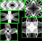 A textura sem emenda elegante do fundo 3D Fotos de Stock Royalty Free