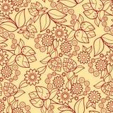 Textura sem emenda floral Fotografia de Stock Royalty Free