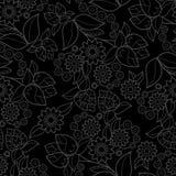 Textura sem emenda floral Foto de Stock