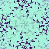 Textura sem emenda floral ornamentado Imagens de Stock Royalty Free