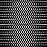 Textura sem emenda líquida do metal Imagens de Stock Royalty Free