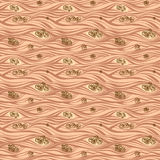 A textura sem emenda levantou-se ilustração royalty free