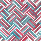 Textura sem emenda wattled sumário com efeito do grunge Imagem de Stock