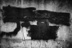 Textura severa de la pared, cemento oscuro del negro del fondo Foto de archivo libre de regalías