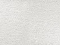 Textura áspera del papel de la acuarela Fotografía de archivo libre de regalías