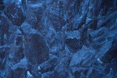 Textura subacuática de las rocas Fotografía de archivo libre de regalías