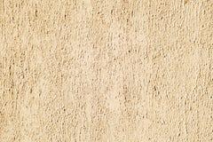 Textura sucia amarilla vibrante de la pared Imagen de archivo
