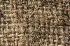 Textura sucia de la arpillera fotos de archivo