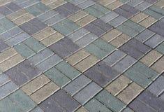 Textura sucia del pavimento del color Imagenes de archivo