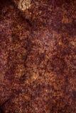 Textura sucia en los tonos marrones y de oro, rasguñado, manchados, foto de una superficie natural foto de archivo libre de regalías