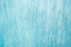 Textura suja azul da parede Fotografia de Stock Royalty Free