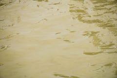 Textura suja da água Fotografia de Stock Royalty Free