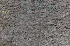 Textura suja da parede do emplastro cinzento Fotos de Stock