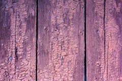 Textura suja velha de pranchas de madeira da cerca Foto de Stock