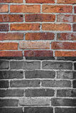 Textura suja velha do brickwall foto de stock royalty free