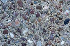 Textura, sumário, assoalho do concreto do fundo Foto de Stock Royalty Free
