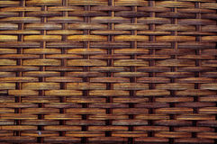 Textura superficial de mimbre imagen de archivo