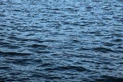 Textura superficial del agua imagenes de archivo