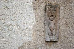 Textura: superficie de piedra con la decoración Fotografía de archivo