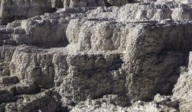 Textura térmica da rocha Fotografia de Stock