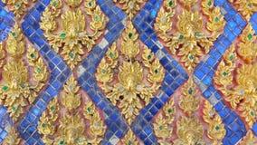 Textura tailandesa Fotografia de Stock