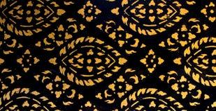 Textura tailandesa da arte Imagem de Stock