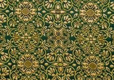 Textura tailandesa del algodón Fotografía de archivo