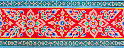 Textura tailandesa del arte Imagenes de archivo