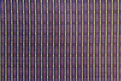 Teste padrão tailandês da tela de seda Fotos de Stock