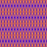 Textura tecida étnica Ilustração do Vetor