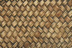 Textura tecida bambu Imagens de Stock