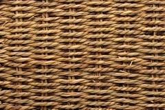 Textura tecida da cesta foto de stock