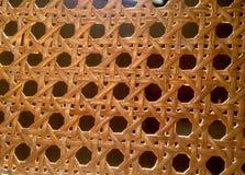 textura tecida da palha Imagens de Stock
