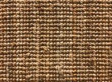 Textura tecida do tapete do sisal ou da fibra natural para o fundo Fotografia de Stock Royalty Free