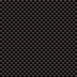 Textura tecida fibra do carbono Fotografia de Stock Royalty Free