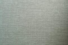 Textura tecida natural de linho da cor verde para fundos fotografia de stock